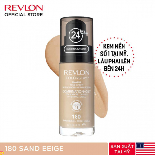 Kem nền lâu phai Revlon Colorstay 24h SPF 15 30ml - 180 Sand Beige (HSD dưới 8 tháng) thumbnail
