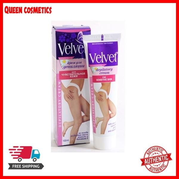 Kem tẩy lông Velvet Sensitive Nga 100ml (queen cosmetics) cao cấp