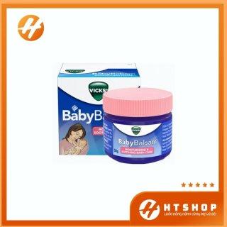 Dầu Bôi Ấm Ngực - Dầu Nóng Vick Baby Balsam Cho Bé Từ 3 Tháng Tuổi Hộp 50Gram thumbnail