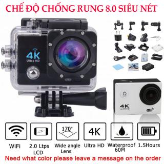 Camera hành trình 4k có wifi - Camera gắn mũ bảo hiểm - Camera Hành Trình 4K Ultra HD Wifi Kết Nối Với Điện Thoại Live Stream H9R. thumbnail