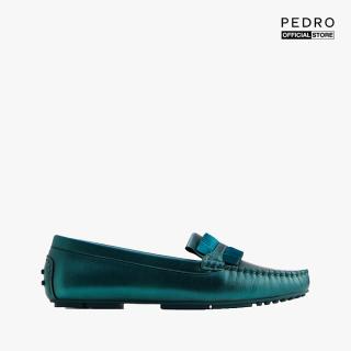 PEDRO - Giày đế bệt mũi tròn Pleats Embellished Leather PW1-65980016-12 thumbnail
