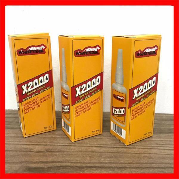 Keo dán đa năng siêu dính X2000 dán được mọi vật liệu - Keo X2000 dán gỗ, thủy tinh, kim loại