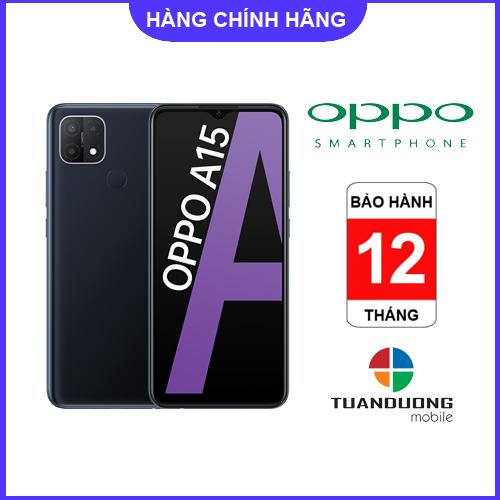 [Trả góp 0%]Điện thoại OPPO A15 3GB/32GB - Hàng Mới...