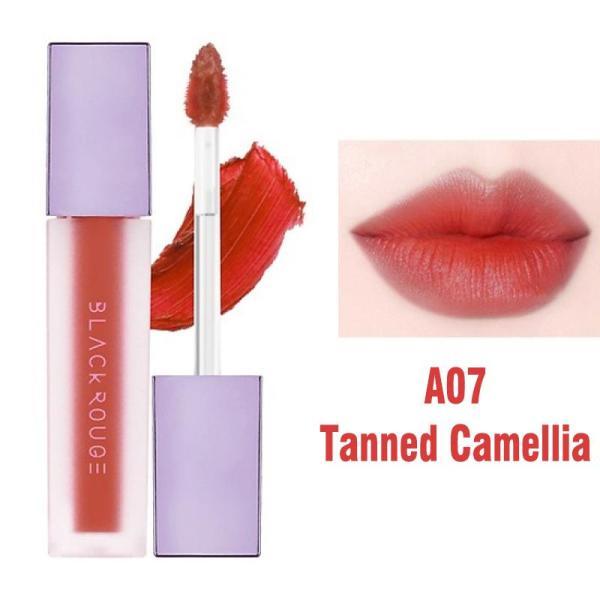 [Version 2] Son Kem Black Rouge Air Fit Velvet Tint Hàn Quốc (A07: Tanned Camellia) tốt nhất