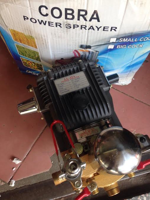 Đầu máy bơm nước rửa xe COBRA LL39a Thái lan chất lượng cao, 2hp, trục pit tong 22mm