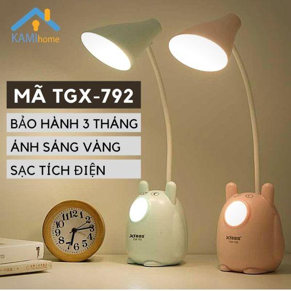 Bảng giá Đèn học để bàn chống lóa chống cận thị cho trẻ em sạc led tích điện kiêm Đèn ngủ và Đọc sách mã TGX792.36019