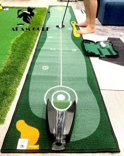 Bộ kit tập GOLF - thảm và máy laser chuyên dụng cho cải thiện kỹ năng putt thumbnail