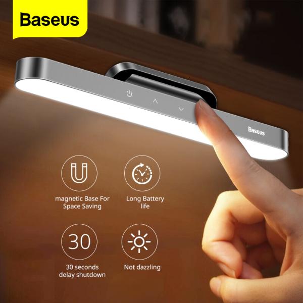 Bảng giá Đèn LED từ tính mini Baseus sạc USB chức năng làm đèn ngủ đèn Tủ quần áo đèn bàn học bàn làm việc có thể xoay Điều chỉnh độ sáng