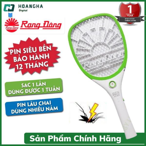 Vợt Bắt Muỗi Rạng Đông Cao Cấp Chính Hãng, Diệt các loại côn trùng,  Có tích hợp đèn Pin Lithium tuổi thọ cao, có đèn chiếu sáng, 3 chế độ bắt muỗi khác nhau, thiết kế mới nhất 2021