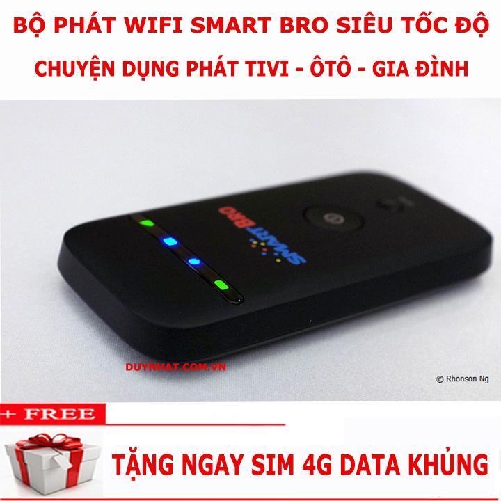 Bộ Phát Wifi Di động Cầm Tay - Phát Wifi Từ Sim CỰC MẠNH- Chạy Bằng Pin SIÊU BỀN- ZTE MF65 Phiên Bản ĐẶC BIỆT Smartbro Mới Ra- SIÊU PHẨM 2019 Giá BÌNH DÂN- Tặng Quà Cực LỚN Cùng Khuyến Mại Sốc
