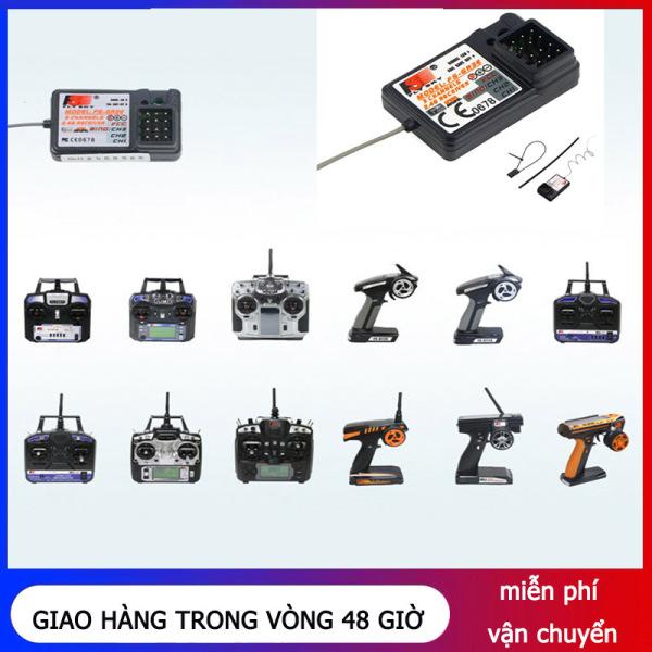 FS-GR3E Bộ Thu 3 Chiều Bộ Thu Điều Khiển Từ Xa Không Dây Cho GT2B GT2 GT3B GT3C 2.4G Phụ Kiện Tự Làm