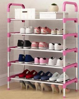 Kệ giày inox giá để dép kệ giày 5 tầng 6 tầng thumbnail