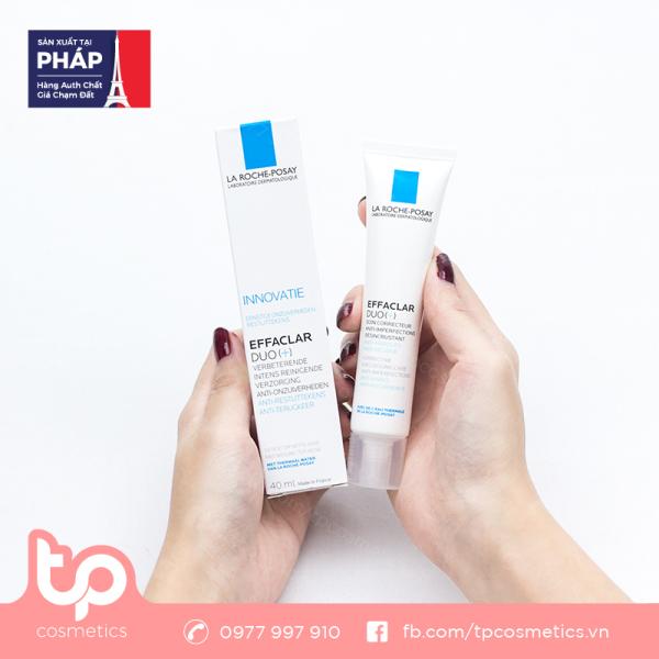 Kem Giảm Mụn La Roche-Posay Effaclar Duo [+] 40ml