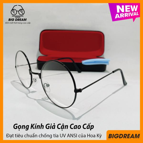 Giá bán Mắt kính giả cận Hàn Quốc dành cho cả nam và nữ BDK222 - Gọng kính cận thời trang cao cấp tròng Poly - Bảo hành 12 tháng 1 đổi 1