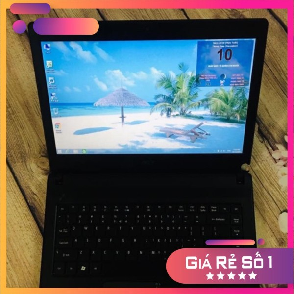 Laptop cũ Acer 4738 i3 ram 2g ổ 320g màn 14.0