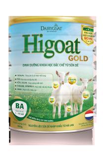Sữa Dê HIGOAT GOLD BA 800g 1-10 tuổi thumbnail