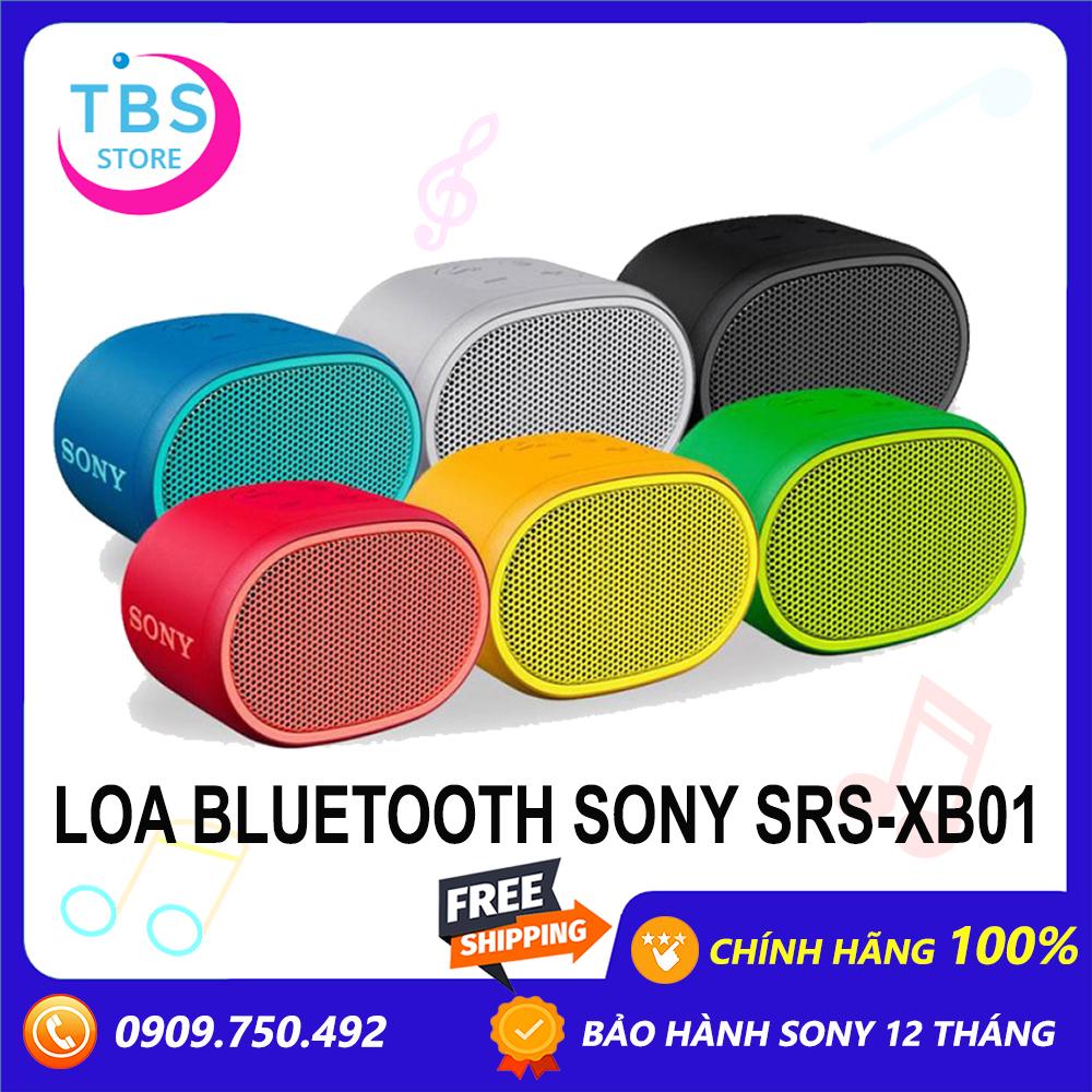 Loa Bluetooth Sony Extra Bass SRS-XB01 - Hàng chính hãng sony Việt Nam - Bảo hành 12 tháng