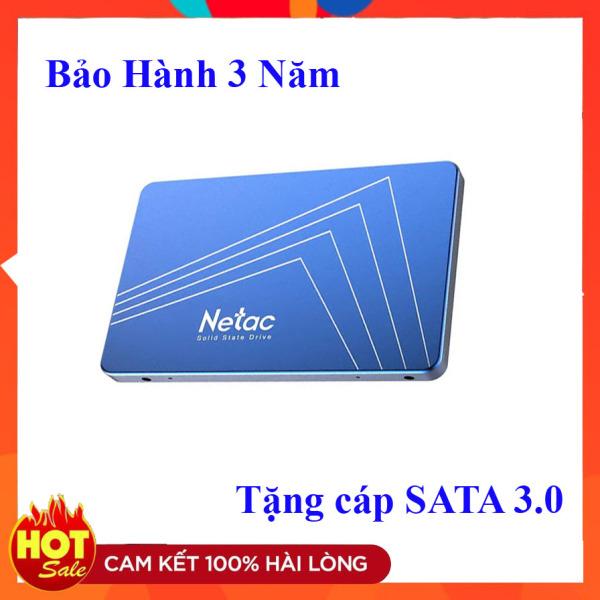 Bảng giá Ổ cứng SSD Netac 480GB 256GB 128GG SATA III - Tặng cáp sata Phong Vũ