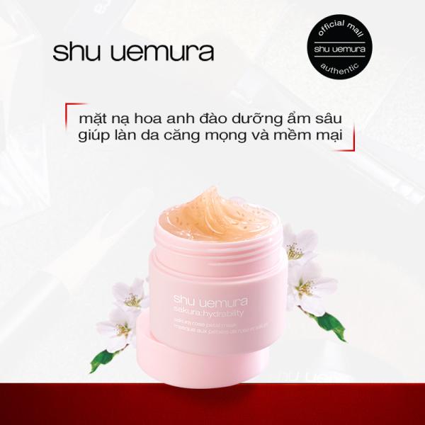 [hàng tặng không bán] mặt nạ dưỡng ẩm shu uemura sakura 13ml nhập khẩu