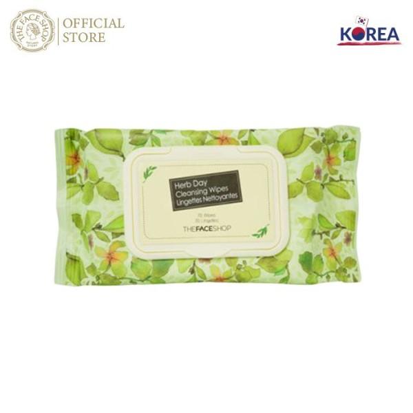Khăn Giấy Tẩy Trang Herb day Cleansing Tissue (70 miếng)