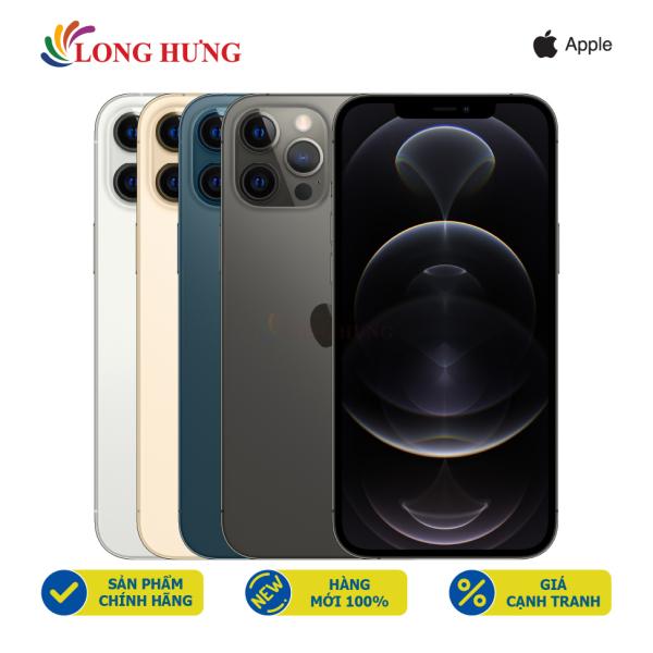 Điện thoại Apple iPhone 12 Pro Max 256GB (VN/A) - Hàng chính hãng - Màn hình 6.7inch Super Retina XDR, bộ 3 Camera sau, Pin 3687mAh hỗ trợ sạc nhanh