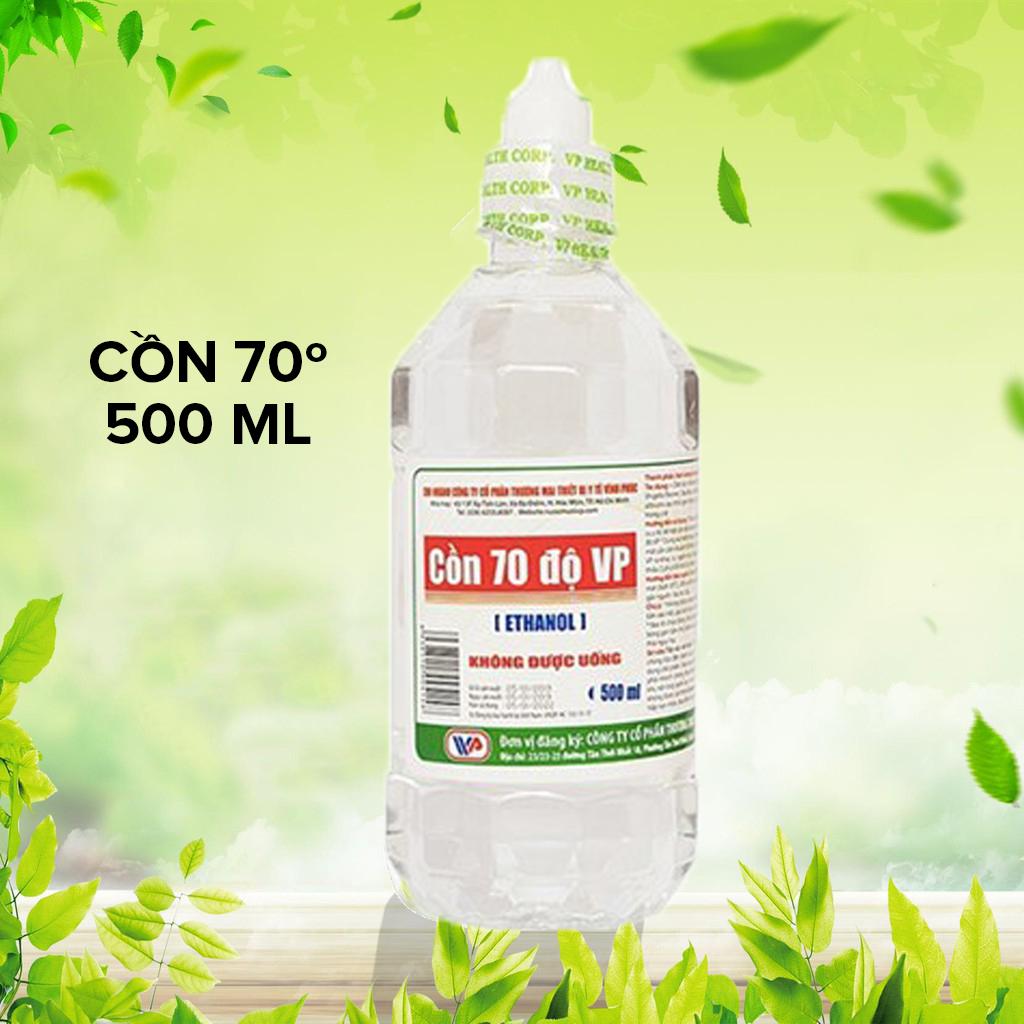 VP500ml_Sát khuẩn tay khô cồn 70 độ 500ml Vinh Phuc nhập khẩu