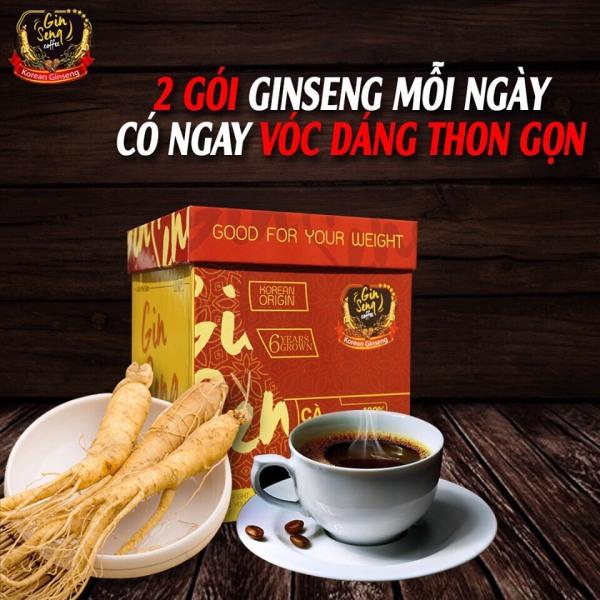 Cà Phê Sâm - Ginseng Coffee giảm cân an toàn (hộp 30 viên)
