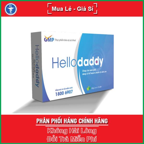 Viên uống Hellodaddy 20 viên hỗ trợ bổ thận, tráng dương, bồi bổ sức khỏe nam giới / Hello Daddy nhập khẩu