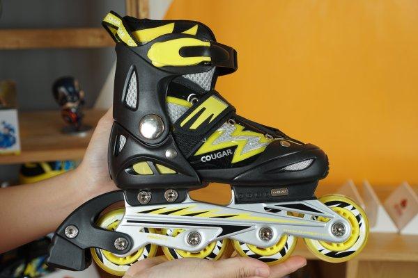 Mua Giày trượt Patin Cougar cao cấp có đèn 835LSG thể thao nhiều màu ĐỒ TẬP TỐT