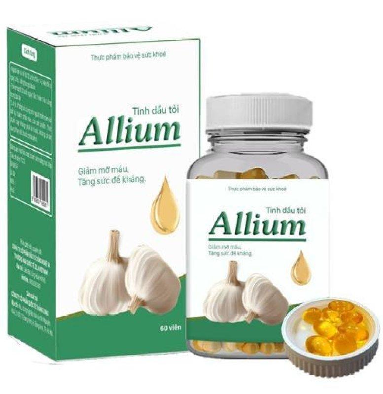 Mua 4 hộp viên Tinh dầu tỏi Allium tặng ngay 1 hộp cao cấp