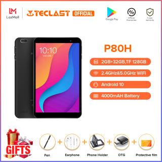 Máy tính bảng Teclast P80H 8 inch Tablets Android 10.0 OS 2GB RAM 32GB ROM 1280 * 800 HD IPS Quad Core Máy ảnh kép GPS Wifi Bluetooth Máy tính bảng