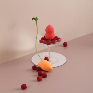 Berlala Beauty Mút trang điểm dùng tán kem nền BLL01 - Watermelon Color 3