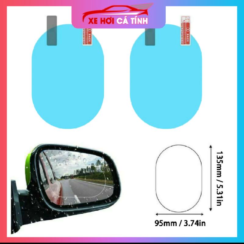 Màng phim bảo vệ chống nước chống sương mù cho gương chiếu hậu - Hình elip 9cm * 13cm, sản phẩm tốt đạt chất lượng cao, cam kết sản phẩm nhận được như hình