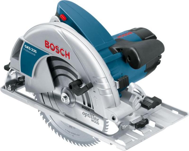 Máy cưa gỗ Bosch GKS 235 TURBO + Quà tặng áo mưa
