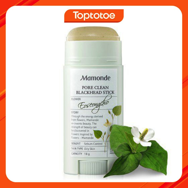 Thanh Lăn Mụn Đầu Đen Mamonde Pore Clean Blackhead Stick 18g