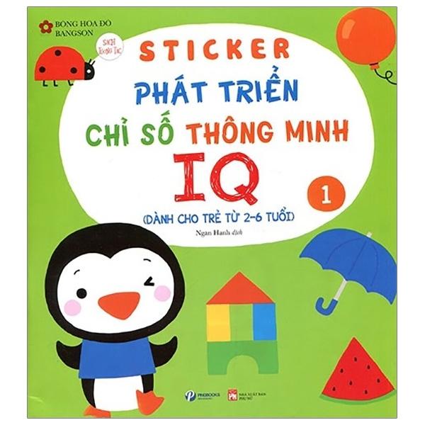 Mua Fahasa - Sticker Phát Triển Chỉ Số Thông Minh IQ - Tập 1