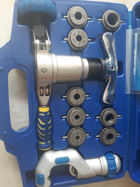 WIPCOOL Bộ nong, loe ống đồng lệch tâm kèm dao WK-519FT