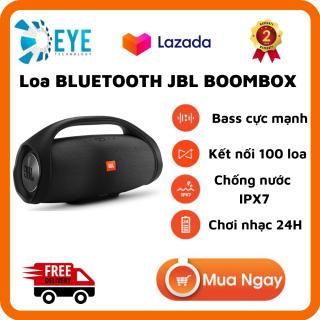 [Flash Sale 50%] Loa Bluetooth JBL Boombox - Âm Thanh Siêu Bass Cực Mạnh - Chống Nước IPX7 - Loa Karaoke Công Suất Cực Lớn 60W - Loa Nghe Nhạc Treble Rời - Sửu Dụng 20h - Tương Thích Điện Thoại, Máy Tính, LapTop - Bảo Hành 2 Năm thumbnail