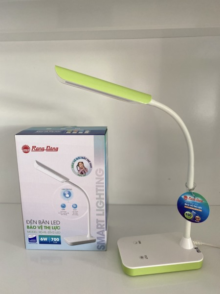 Bảng giá Đèn học LED chống cận thị Rạng Đông 6W cảm ứng, 3 cấp 4 màu ánh sáng, Chip LED Samsung (RD-RL-20.LED)
