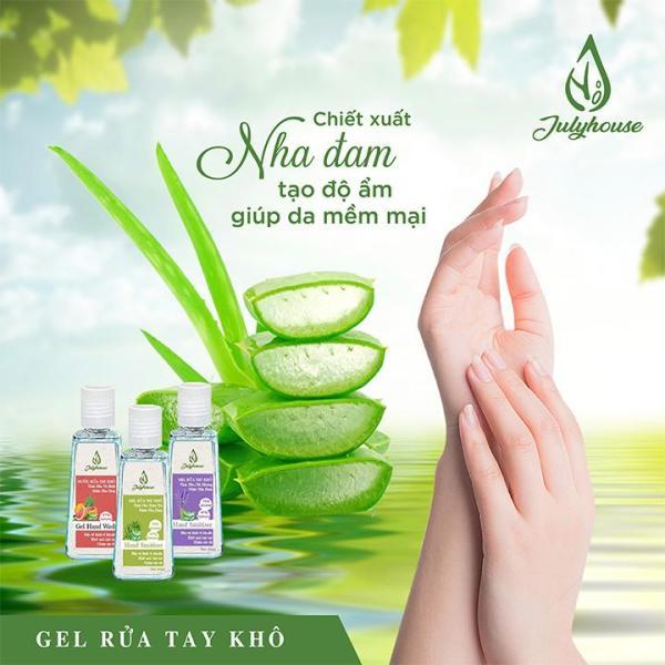 [QUÀ TẶNG] Gel rửa tay khô 60ml hương tinh dầu ngẫu nhiên