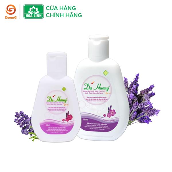 Dung dịch vệ sinh phụ nữ dạng gel Dạ Hương Lavender huyền bí - DH1