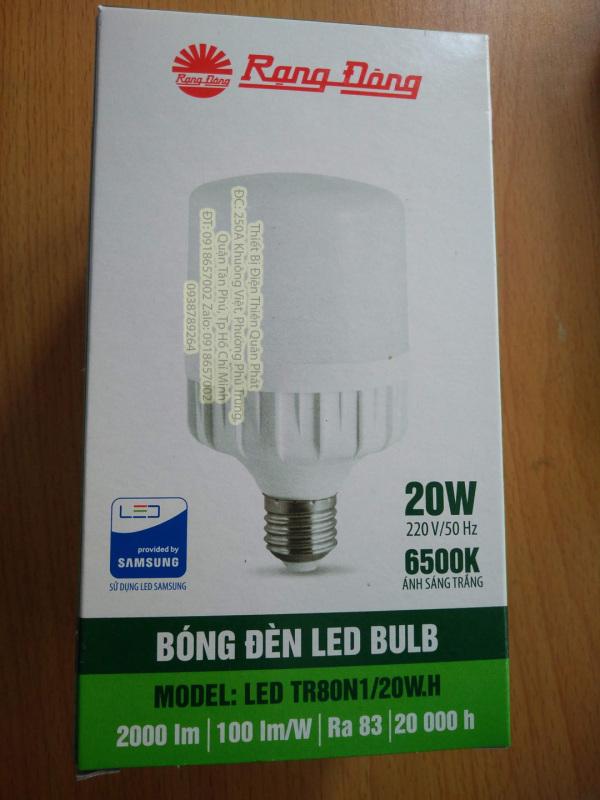 Bóng đèn Led Bulb Rạng Đông siêu sáng 20w 30w 40w 50w