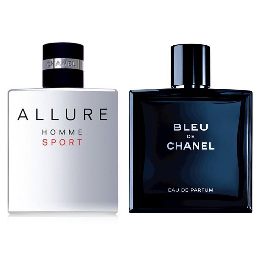 COMBO 2 nước hoa nam Bleu De Chanel EDT (XT8)+ Chanel Allure Homme Sport EDT for men (XT06)