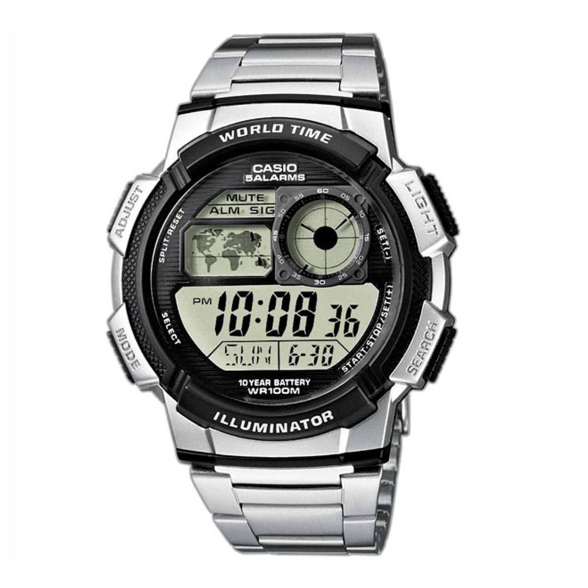 Đồng hồ nam dây kim loại Casio AE-1000WD-1AVDF bán chạy