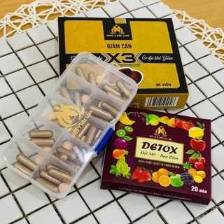 Giảm cân, Giảm cân X3, giảm cân Đông Y Mộc Linh, 30 viên 1 hộp, Giảm cân nhanh thumbnail