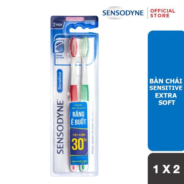Bàn chải đánh răng Sensodyne  Ultra Sensitive E Ex Soft 1X2 giá rẻ