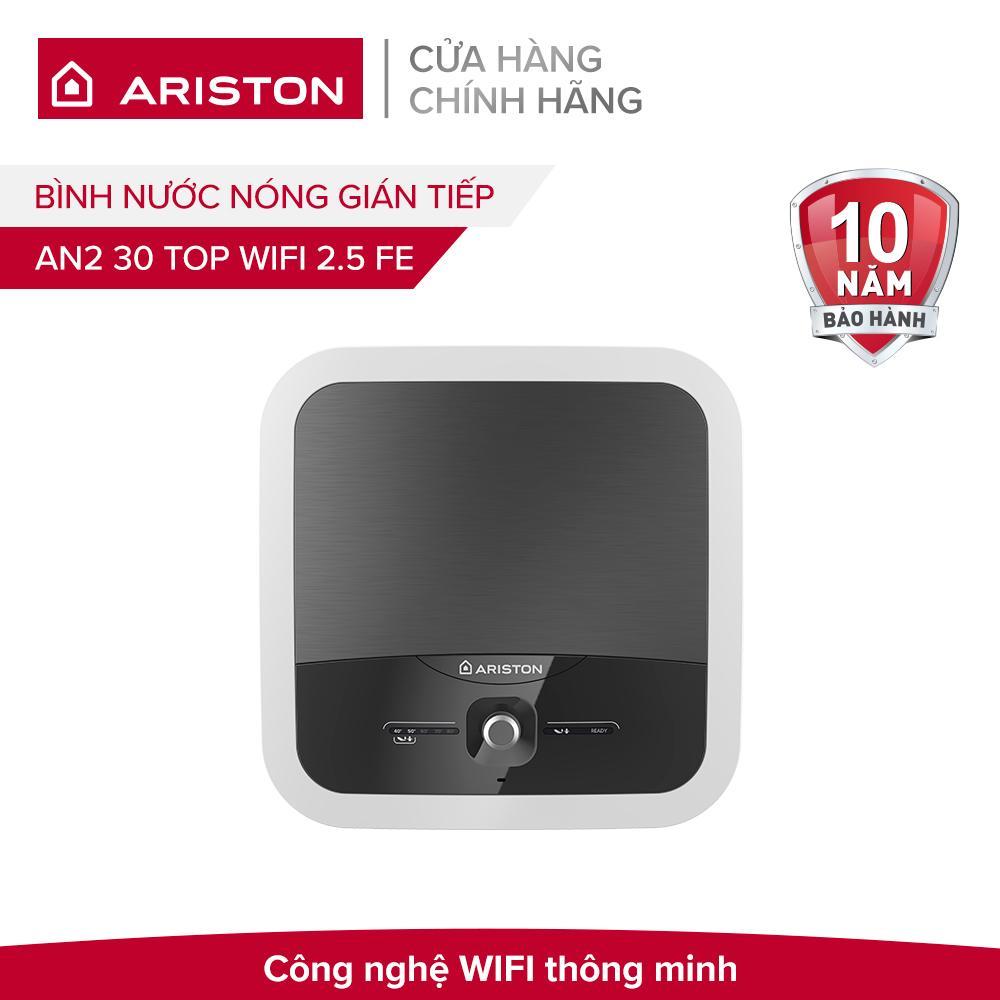 Bình nước nóng gián tiếp Ariston AN2 30 TOP WIFI 2.5 FE 2500W