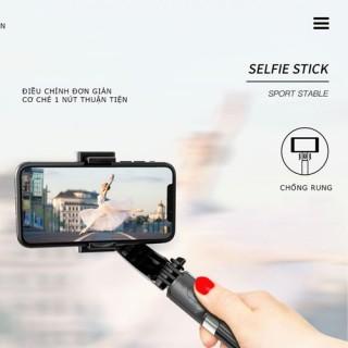 [ SIÊU SALE ] Tay Cầm Gimbal L08 Bluetooth Chống Rung 3 Trục Cho Điện Thoại - L08, GẬY CHỐNG RUNG GIMBAL STABILIZER L08 - Selfie Stick Tripod, Selfieshow L08 Gimbal Cầm Tay Ổn Định Hỗ Trợ Quay Video Youtube, Dũng YenLuong thumbnail