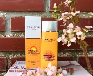 KEM CHỐNG NẮNG TENAMYD - AQUA SUN SERUM SPF 50 PA+++ kem chống nắng thumbnail
