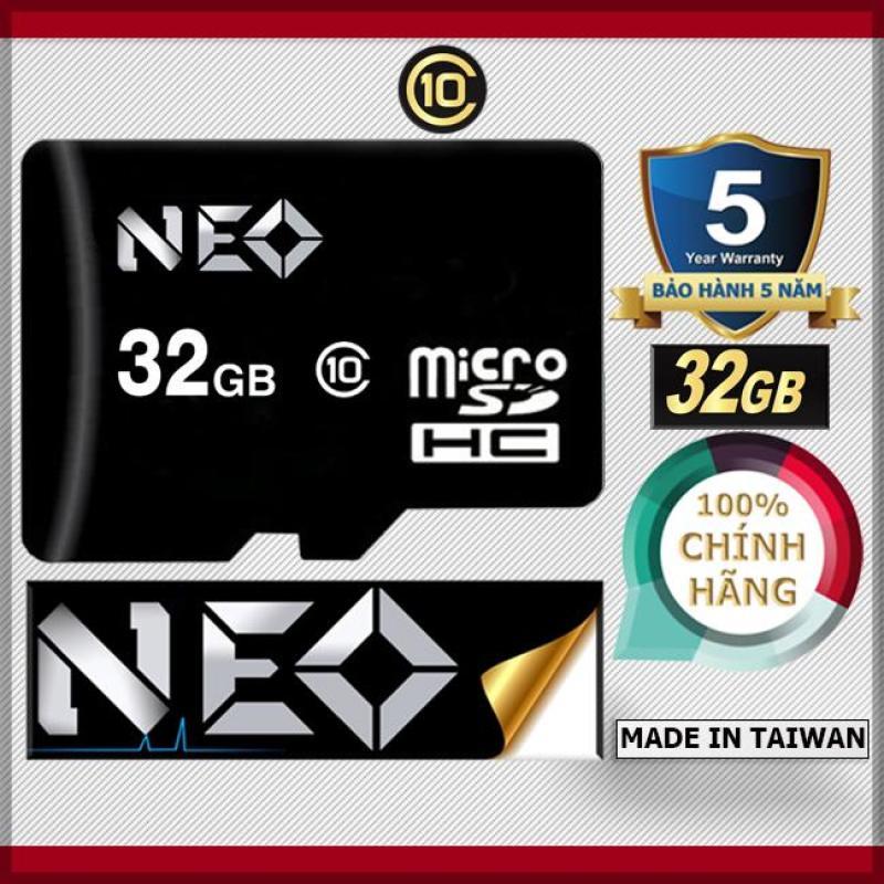 Bộ 20 Thẻ nhớ 32GB NEO MicroSDHC Class 10 - Bảo hành 5 năm 1đổi1